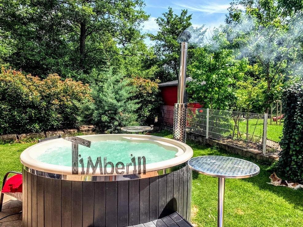 WELLNESS NEULAR KNAP Scandinavische Hot Tub – Geen Onderhoud Nodig