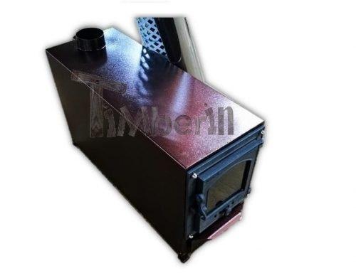 Externe Roestvrij Staal Kachel Met Decoratie Voor Hot Tubs TimberIN Main