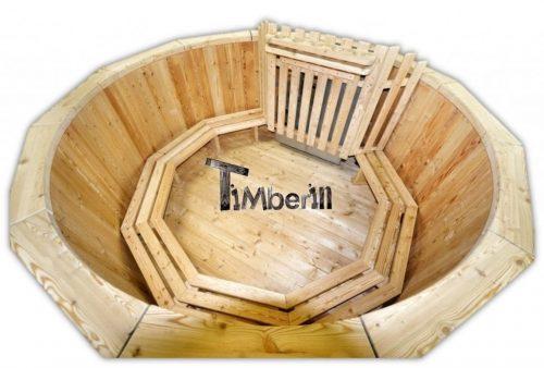 Houtgestookte houten hottub kopen