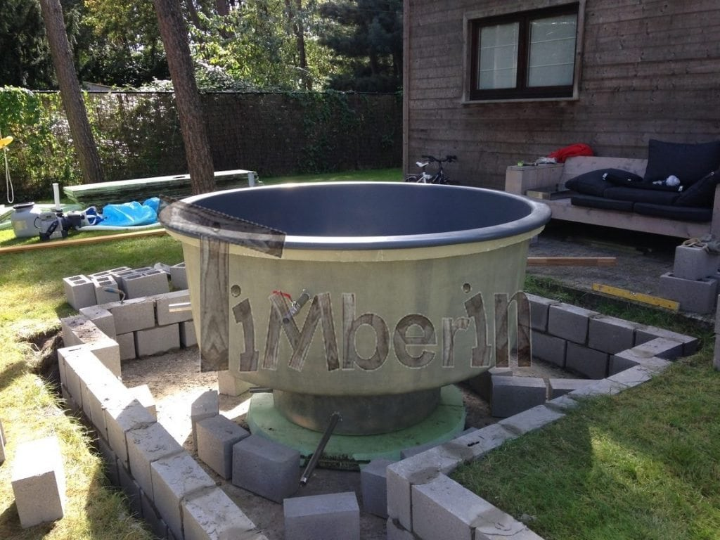 hottub ingraven fiberglas terras model