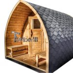 Houten Igloo Sauna