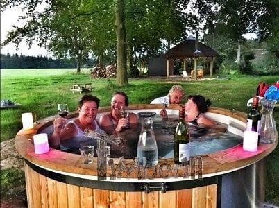 De sauna en hot tub, Victor Marijnen, Emst, Nederland main