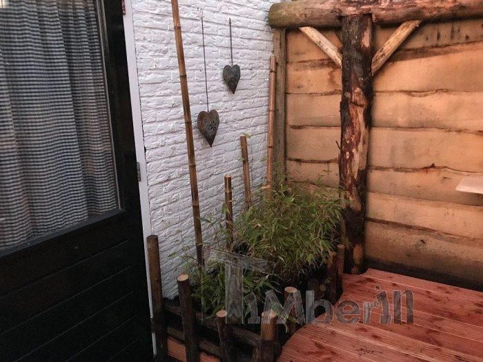 Hottub Glasvezel Met Interieur Kachel Wellness Basic, Dick, WH Castricum, Nederland (2)