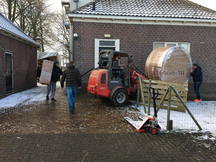 Kunststof Hottub Med Houtkachel, Illona, KC Westwoud, Netherlands (5)