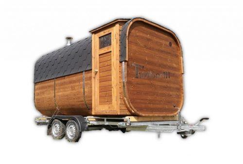 Mobiele Buitensauna Op Wielen - Aanhangwagen