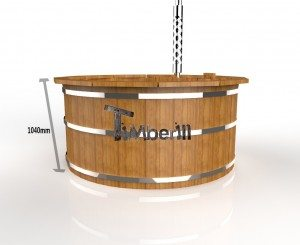 Houten Hottub thermo hout Deluxe  (3)