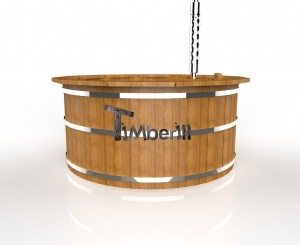 Houten Hottub thermo hout Deluxe  (4)