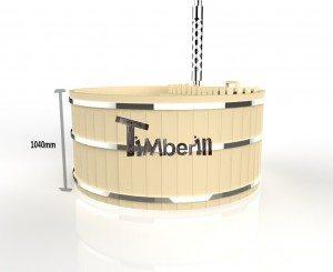 Houtgestookte houten hottub basic (12)