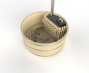 Houtgestookte houten hottub basic (8)